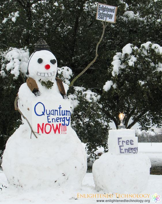 Quantum Snow Man